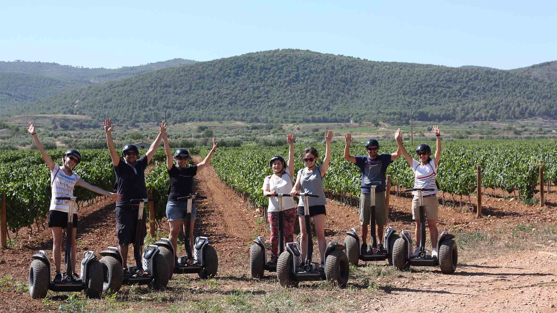 SEGWAY RIDING & WINE TOUR PENEDÉS