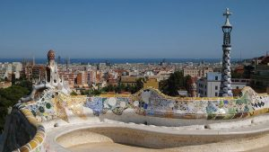Park Güell (GAUDI curved benches)