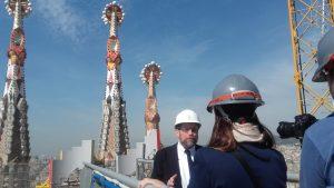 Sagrada Familia's Architect Director