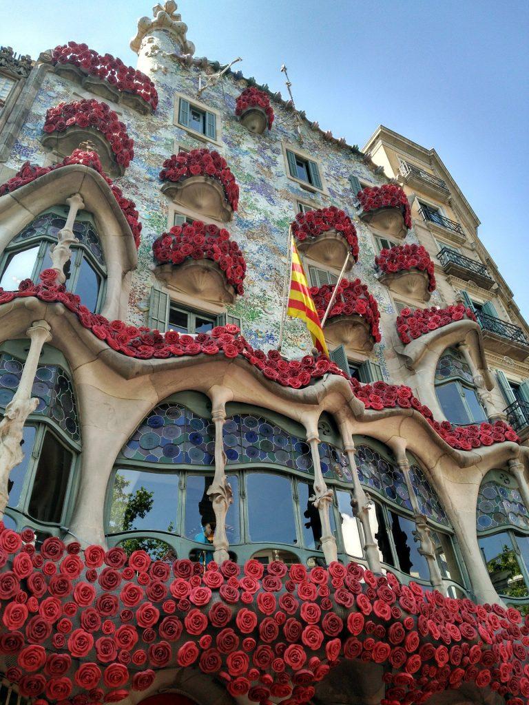 Books, Roses, Sant Jordi, Barcelona, Catalonia, Wine Tours